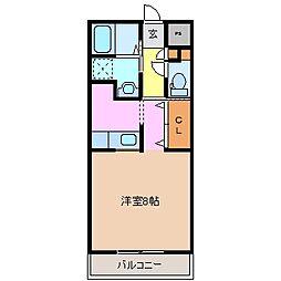 Ark・Maison[1階]の間取り