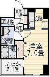 カンタベリーベルズ[4階]の間取り