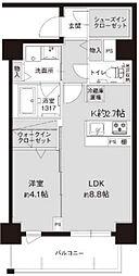 大阪府大阪市浪速区元町3丁目の賃貸マンションの間取り