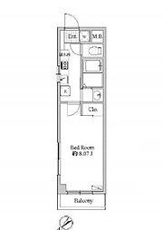 サンイング北松戸[5階]の間取り
