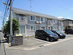 埼玉県上尾市川2丁目の賃貸アパートの外観