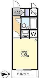 日神パレステージ藤沢[2階]の間取り