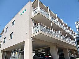 O−2マンション B棟[B302号室]の外観