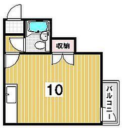 メゾン福島[4-B号室]の間取り
