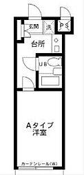 メゾンエクレーレ江古田[208号室]の間取り