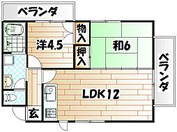 HIKARUビル[2階]の間取り