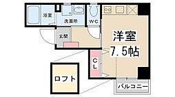 ZONE 1/f Part5[403号室]の間取り