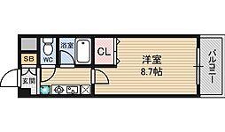 新大阪エクセルハイツ[7階]の間取り