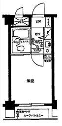 ライオンズマンション大森本町第2[4階]の間取り