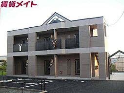 三重県四日市市内堀町の賃貸アパートの外観