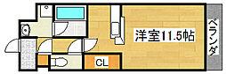 シェリールソル[3階]の間取り