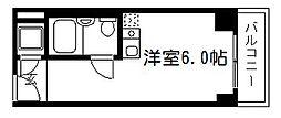 京都今出川レジデンス[702号室]の間取り