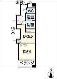 square court[1階]の間取り