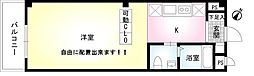 神奈川県横浜市栄区笠間1丁目の賃貸マンションの間取り