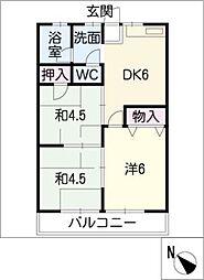 I−FIELD[2階]の間取り