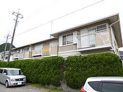 東京都青梅市長淵5丁目の賃貸アパートの外観