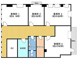 阪急神戸本線 中津駅 徒歩8分の賃貸事務所