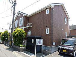 三重県松阪市嬉野中川町の賃貸アパートの外観