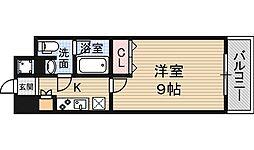 プラウドフラット新大阪[6階]の間取り