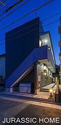 大阪府堺市北区百舌鳥本町1丁の賃貸アパートの外観