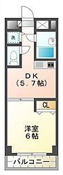 ジョイフル国分寺[3階]の間取り