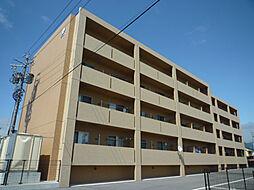 長野県佐久市岩村田の賃貸マンションの外観