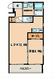 プラチナスタイル[2階]の間取り