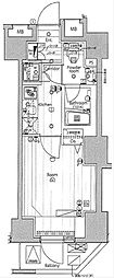 JR山手線 渋谷駅 徒歩6分の賃貸マンション 5階1Kの間取り
