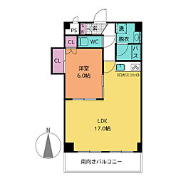 リエス千代田[2階]の間取り