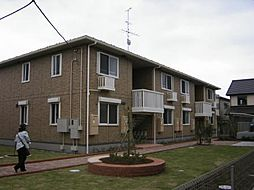 トレグラースB棟[2階]の外観