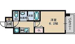 ララプレイス新大阪シエスタ[7階]の間取り