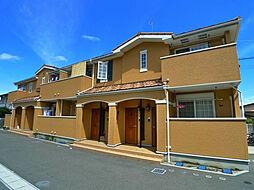福岡県北九州市若松区小糸町の賃貸アパートの外観