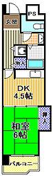 高見フローラルタウン四番街54号棟[3階]の間取り