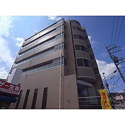 奈良県生駒市東松ケ丘の賃貸マンションの外観