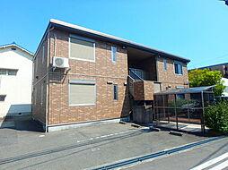 兵庫県姫路市広畑区城山町の賃貸アパートの外観