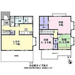 [テラスハウス] 東京都あきる野市三内 の賃貸【/】の間取り