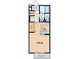 三重県鈴鹿市庄野羽山4丁目の賃貸アパートの間取り