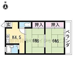 小笹マンション[301号室]の間取り
