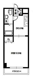 CRUM-1(クルムワン)[5階]の間取り