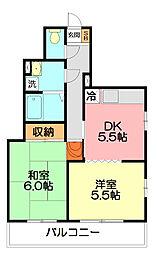 メゾン湘南台[3階]の間取り