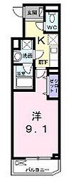 Casa Rune[3階]の間取り