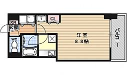 ラモーダ堀川[701号室号室]の間取り