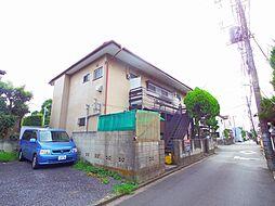 東京都東久留米市八幡町3丁目の賃貸アパートの外観