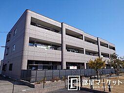 愛知県みよし市三好町大坪の賃貸マンションの外観