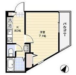 ラッフィナート笹塚[1階]の間取り