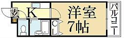 シューパレス[2階]の間取り