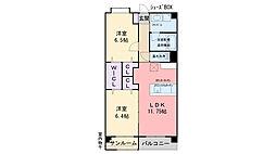 (仮)今宿西1丁目ビル[603号室]の間取り