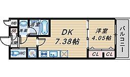 ガレリア大阪空港II[3階]の間取り