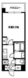 リッツ新大阪[12階]の間取り