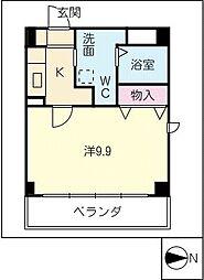 I.S.M III[1階]の間取り